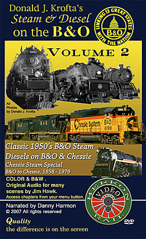 Steam & Diesel on the B&O Volume 2